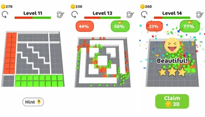 Blocks vs Blocks на Android