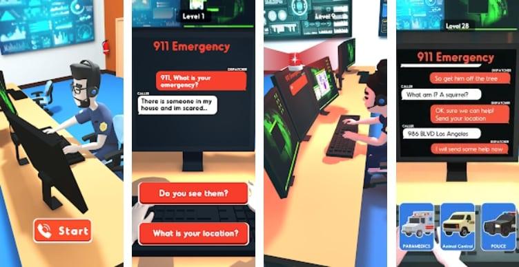 911 Emergency Dispatcher на Андроид