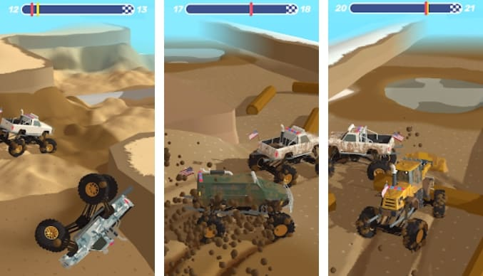 Mudder Trucker 3D на Андроид