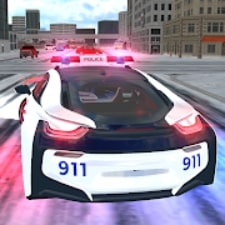 American i8 Police Car Game 3D на Android