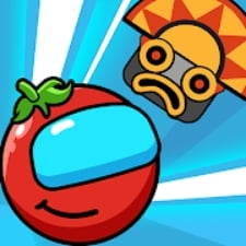 Red Bounce Ball Heroes на Android